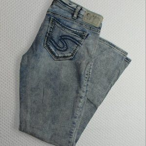 Women's Silver Jeans Tuesday Low Boot W30 L30